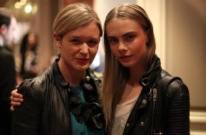 Mit Cara Delevingne in Paris