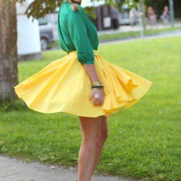 Gelb, gelb, gelb sind alle meine Kleider ...