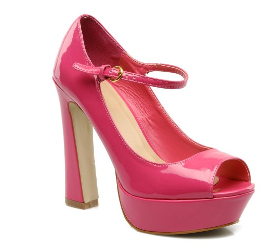 Pinkfarbene Schuhträume von I Love Shoes