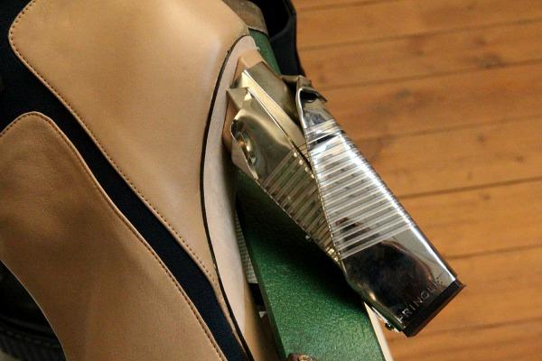 Ankle Boots mit Metall-Heel von Pringle of Scotland