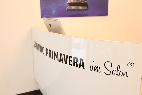 Im Salon von Santino Primavera in München