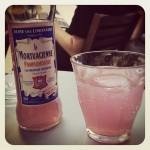 Pinkfarbene Limo in Berlin