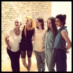 Katja, Bonnie, Katharina, Sarah und Nike bei MCM