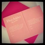 Noch mehr Post von Dior ...