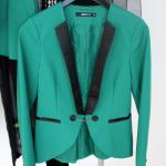 Grobstrick, Leder und Neon: Die Herbstkollektion 2012 von Gina Tricot