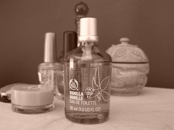 """""""Vanilla Vanille"""" von The Body Shop"""