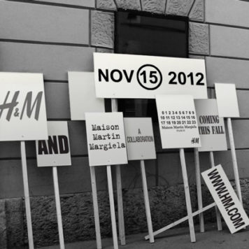 H&M kooperiert mit Maison Martion Margiela: Die Kollektion kommt am 15. November 2012 in die Läden