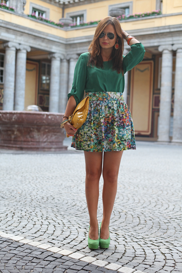 Sommer, Sonne und die Farbe Grün