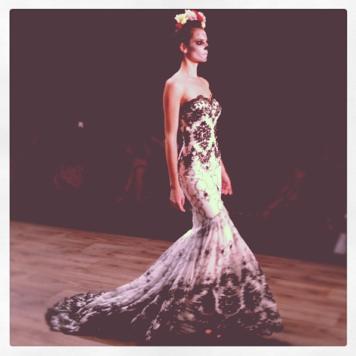 Fashion Week Berlin: Das Brautkleid von Lena Hoschek