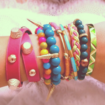 Kunterbunte Armparty ...