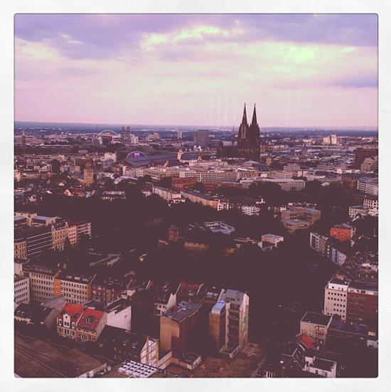 Mit Lancôme in Köln