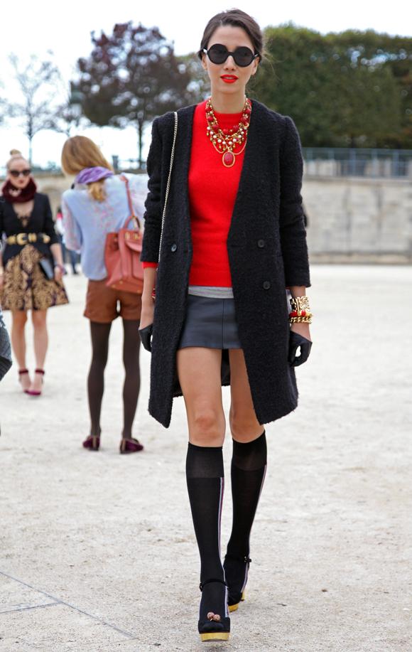 Paris Fashion Week Street Styles Part One