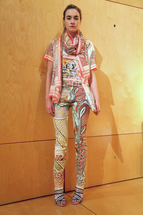 Paris Fashion Week: Mary Katrantzou for Current/Elliott