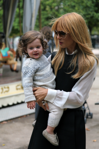 Paris Fashion Week: Picture of the Day - Rachel Zoe and her son Skyler