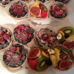 Delicious Tartlets at Breuninger