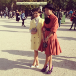 Street Style icons in Paris