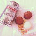 Jean-Paul Gaultier Diet Coke and macarons