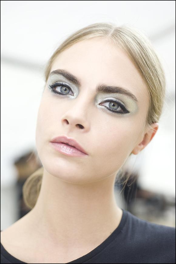 Paris Fashion Week: Chanel Spring/Summer 2013 - Backstage ...