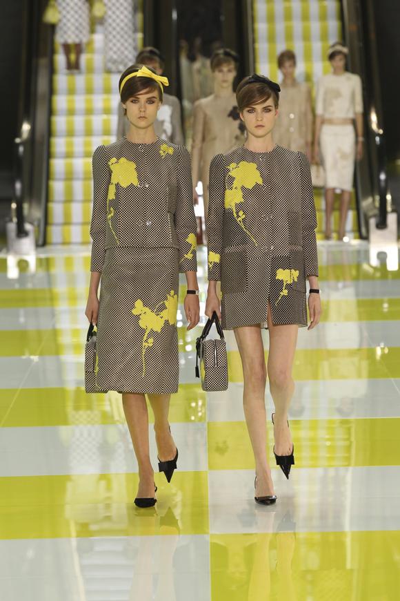 Paris Fashion Week: Louis Vuitton Spring/Summer 2013
