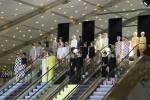 Paris Fashion Week: Louis Vuitton Spring Summer 2013 Escalator