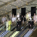 Paris Fashion Week: Louis Vuitton Spring Summer 2013 Escalator