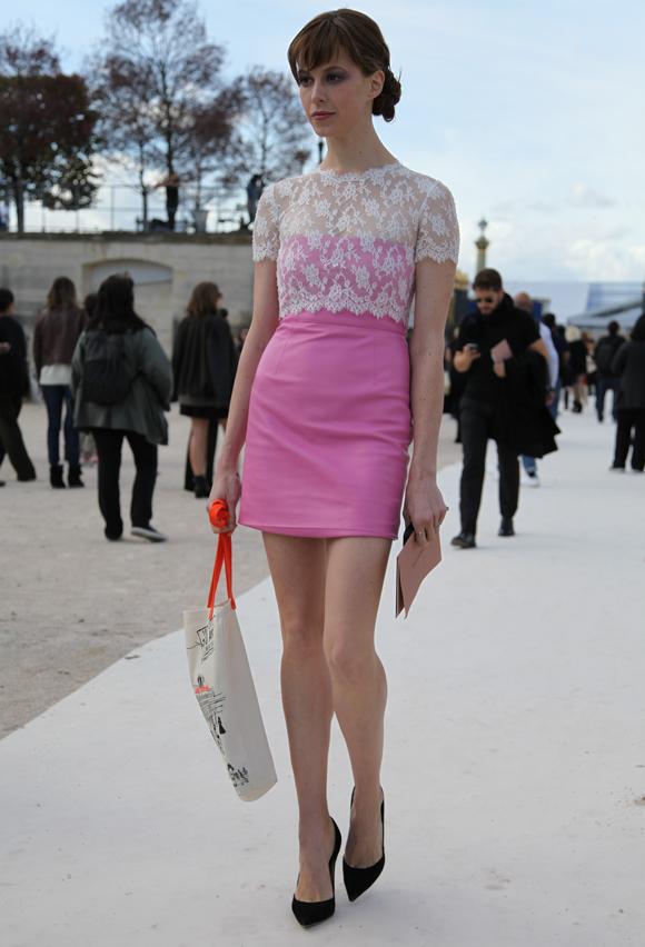 Paris Fashion Week: Anna Dello Russo, Miroslava Duma, Elettra Rossellini Wiedemann and Rachel Zoe at Valentino