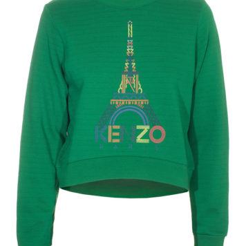 Back in stock: Kenzo eiffel tower sweater