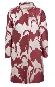 Floral coat by Schumacher