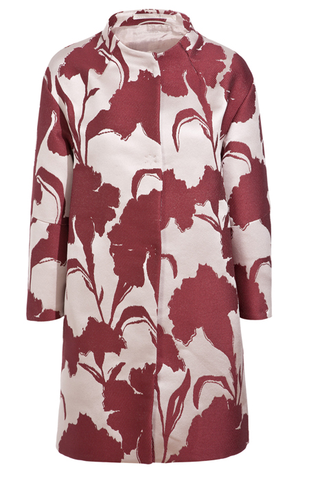 Floral coat by Schumacher