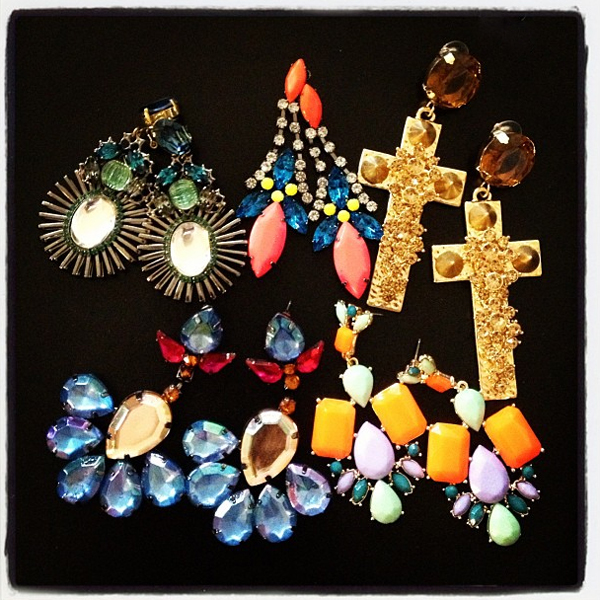 New In: Statement earrings