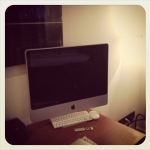 My own iMac in my hotel room