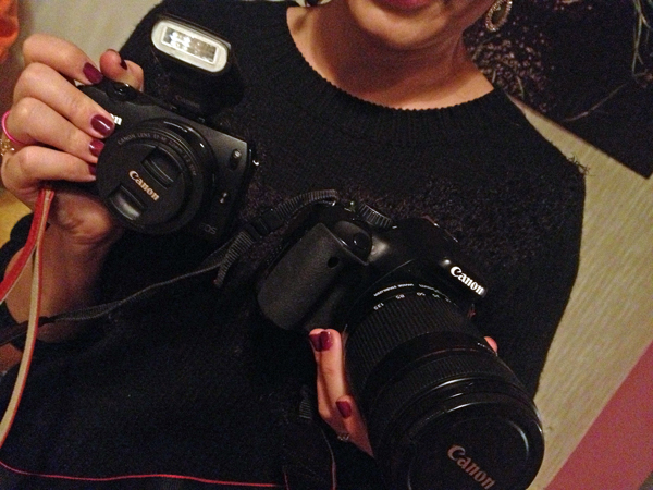 """Gifts from the kitchen"" and the new Canon EOS M"