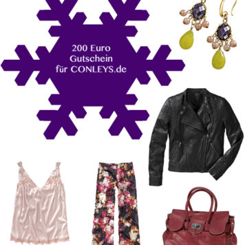 Josie loves Adventskalender – 4. Dezember: Ein 200 Euro Shopping-Gutschein für CONLEYS