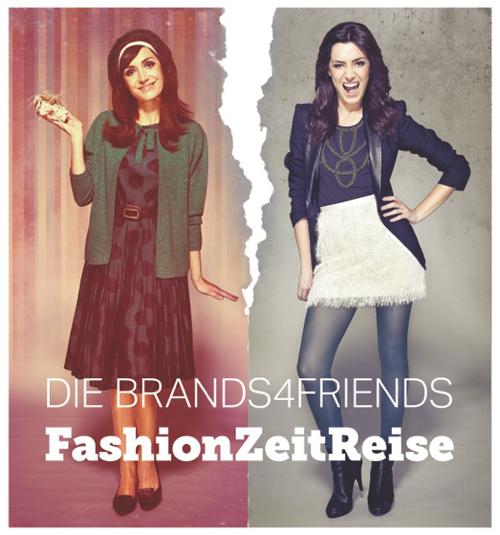 brands4friends schickt uns auf eine Fashion Zeitreise