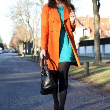Orange meets Turquoise
