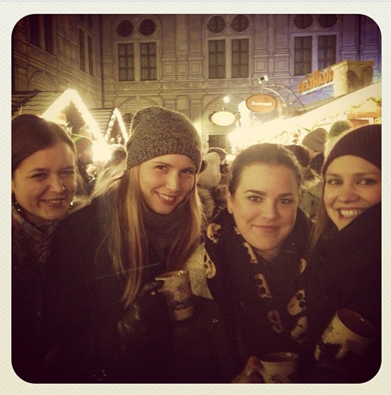 Christmas market with the girls