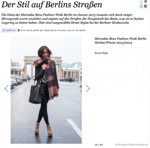 Fashion Week Berlin: Street Styles