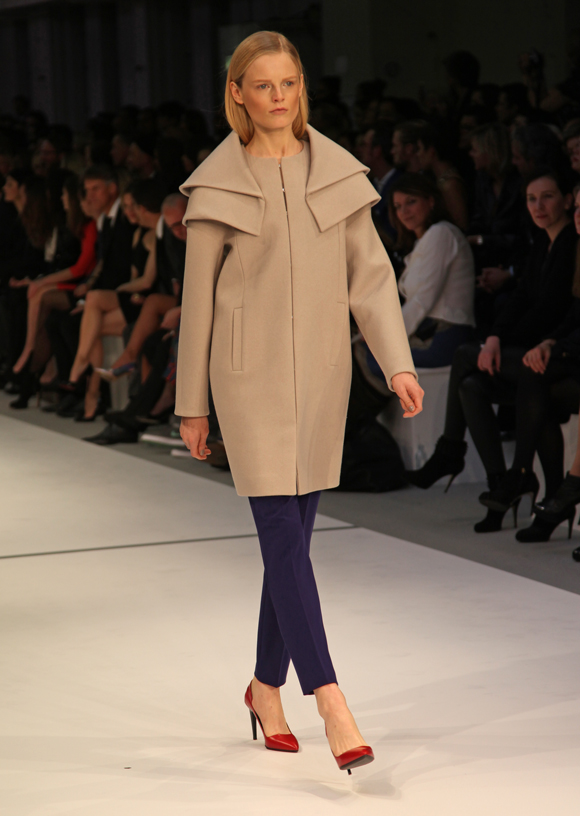 Fashion Week Berlin: Hanne Gaby Odiele for HUGO