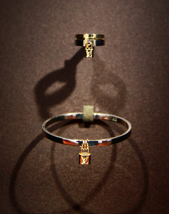 Louis Vuitton Lockit Jewelry Collection
