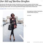 Street Style Berlin Fashion Week Januar 2013