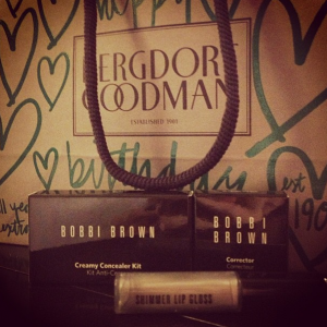 Bobbi Brown Beauty Shopping