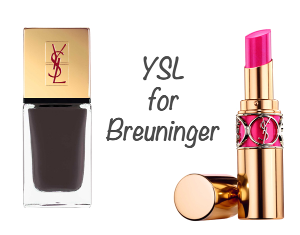 "Win a Limited Edition ""Yves Saint Laurent for Breuninger"" Beauty Set!"