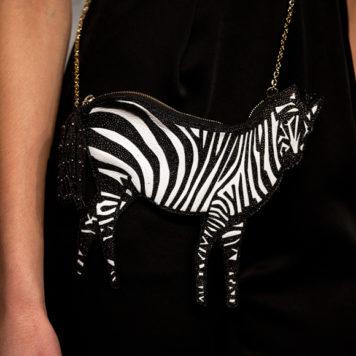 New York Fashion Week: Alice and Olivia Zebra Bag