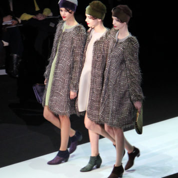 Milan Fashion Week: Emporio Armani Winter 2013