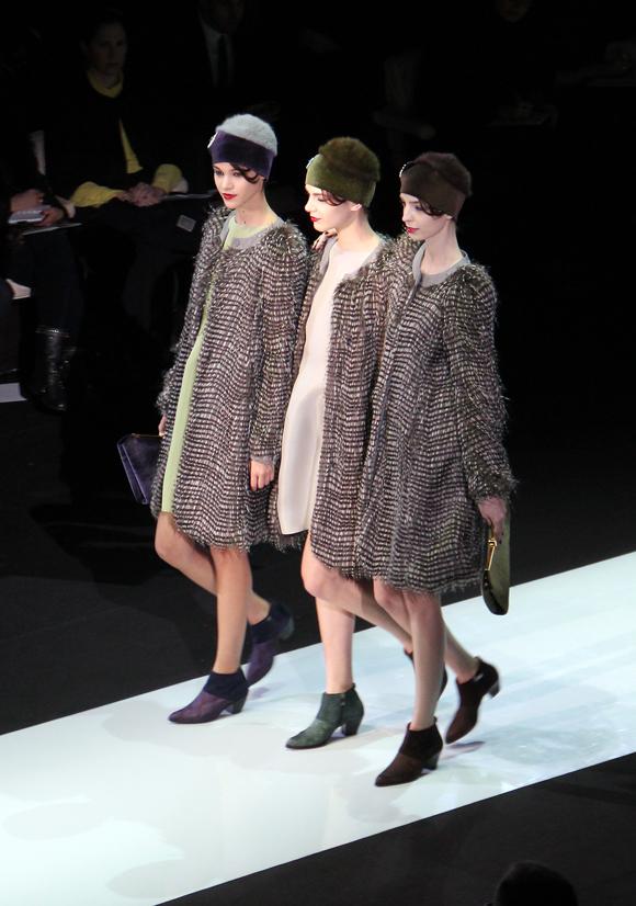 Milan Fashion Week: Emporio Armani Winter 2013