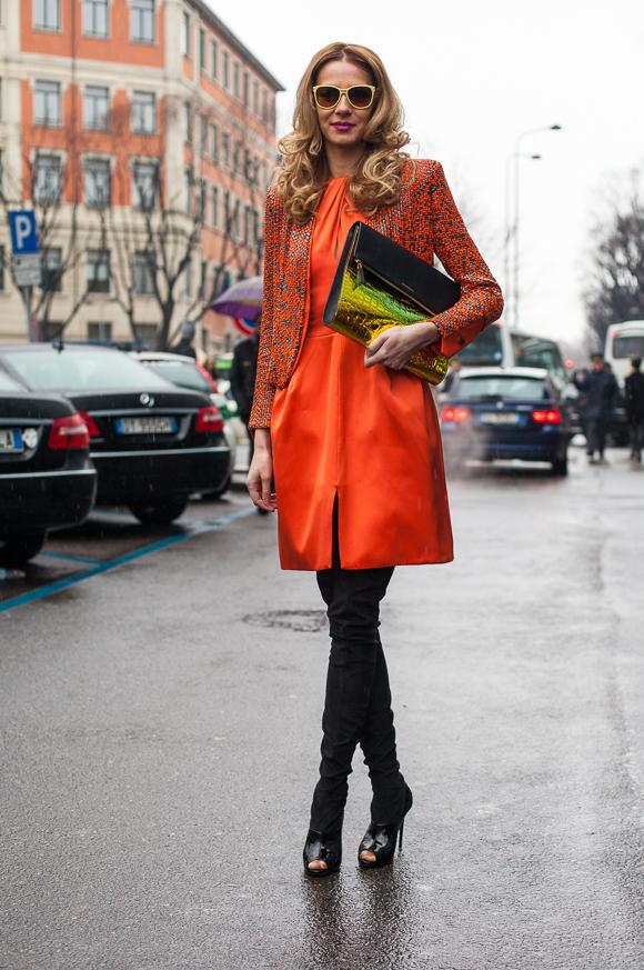 Milan Fashion Week Street Styles