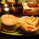 "Burger at ""Hans im Glück"""