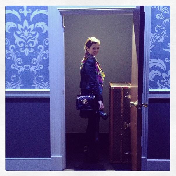 After the Louis Vuitton Fashion Show