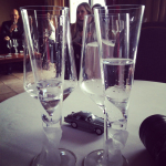 Water tasting at the fragrance workshop