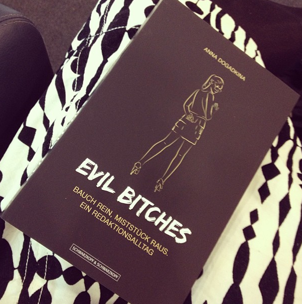 New book: Evil bitches